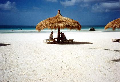 hut along White Beach, Boracay