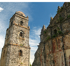 San Agustin Church bell tower, Paoay, Ilocos Norte