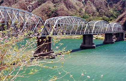 the Quirino Bridge in Santa, Ilocos Sur