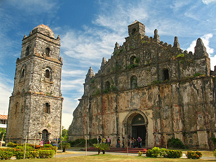 the San Agustin Church in Paoay, Ilocos Norte