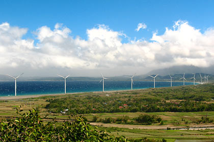 windmills in Bangui, Ilocos Norte