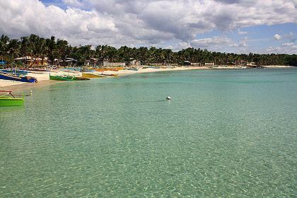 Tambobong village and beach, Dasol, Pangasinan