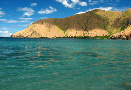 waters off Anawangin Cove, San Antonio, Zambales