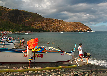 the fishing village of Pundaquit, San Antonio, Zambales